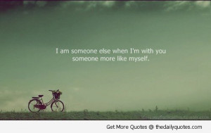 Am Someone Else When I'm With You