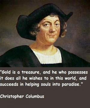 Christopher columbus famous quotes 3