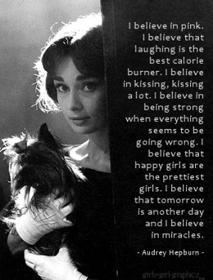 /1e/90/audrey,hepburn,black,and,white,quotes,quote,audrey,likes,pink ...