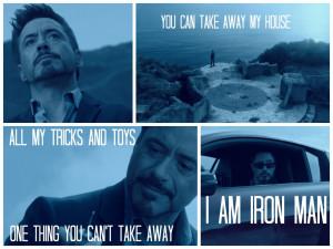 Home Iron Man Tony Stark Quotes