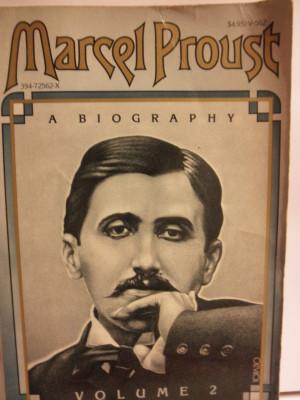 Marcel Proust Biography Vol