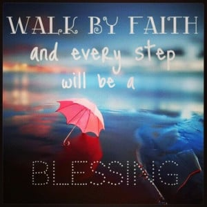 Walk by faith. foot tattoo quote?