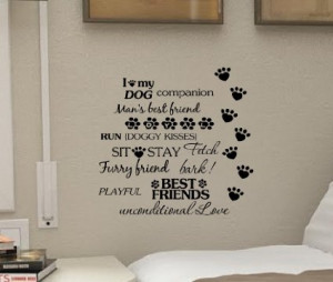 My Dog Is My Best Friend Quotes I Love My Dog Companion Man s