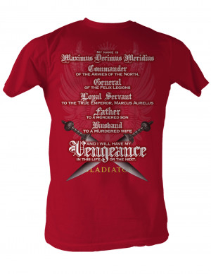 Youth Wrestling Quotes Gladiator quote red t-shirt