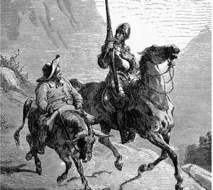 Don Quixote by Cervantes . Best Quotes. Out of his Mind