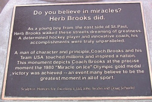 Herb Brooks Quotes Common Man Herb brooks 8/5/37-8/11/03 one