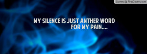 my silence is just anther word for my pain.... , Pictures