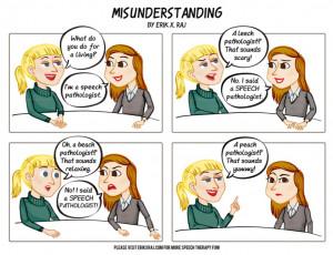 Funny Speech Language Pathology Quotes Speech-language pathology