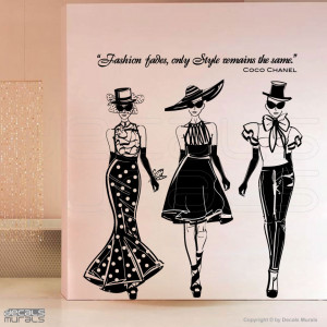 """... Fades, Only Style Remains The Same """" - Coco Chanel ~ Clothing Quotes"""