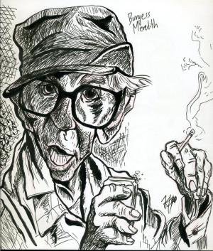 Burgess Meredith Grumpy Old Men Burgess meredith by jayemjay