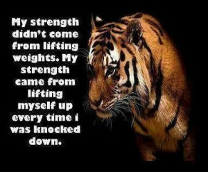 tiger #quote #determination