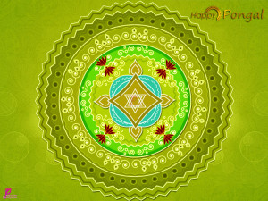 Happy Harvest Festival Celebration Pongal Happy Pongal Wishes Card ...