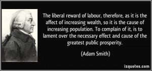 reward of labour, therefore, as it is the affect of increasing wealth ...