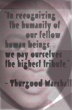 Thurgood Marshall. Thurgood
