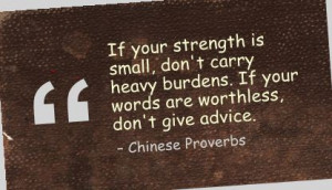 ... quotespictures.com/if-your-strength-is-smalldont-carry-heavy-burdens