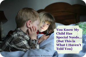 special needs pin