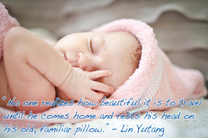 Sleeping Baby Quotes...