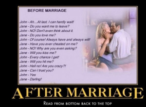 Crazy Story of Before And After Marriage