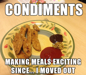 funny picture condiments plate food eating wanna joke.com
