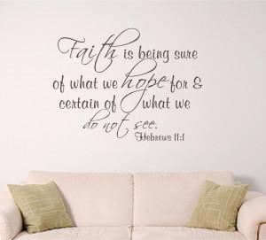 Scripture Verses On Faith