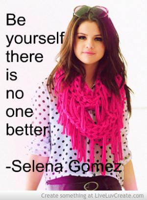 Selena Gomez Quote 1