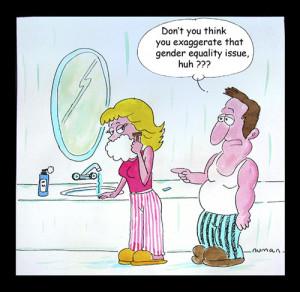 Gender Equality (medium) by cizofreni tagged gender,equality,men,women ...