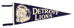Detroit Lions Football Helmet