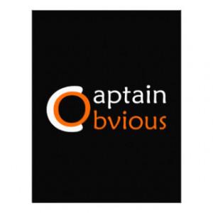 Captain Obvious Letterhead Design
