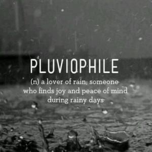 ... in the rain, love, love rain, this is me, pluviophile, lover of rain