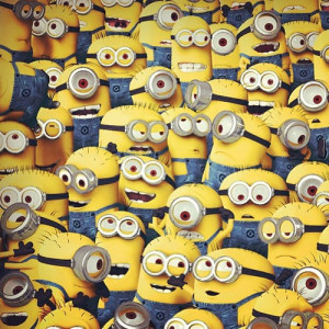 fun, funny, minion, minions, pic, quote, text, yellow
