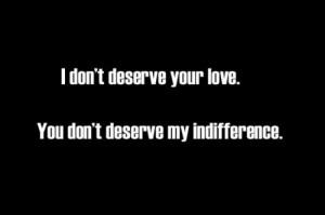 deserve, love, quote, text, typography