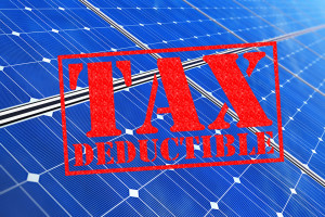 Small business can get a tax break on installing solar. Thanks Mr ...