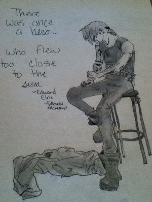 Edward Elric Quote by keepyourheadup7190