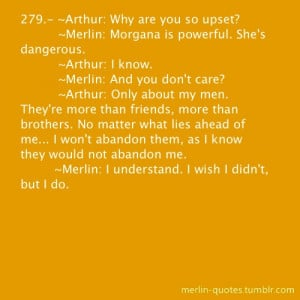 Merlin ~ Quotes