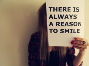 blonde, girl, hair, quotes, reason, smile, text