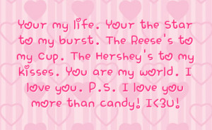 Hershey Kisses Sayings