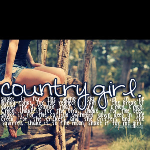 Country Girl Quotes Girls