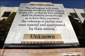 George Washington's name stripped from courthouse quote