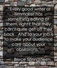 Writing and filmmaking - so true!!!! More