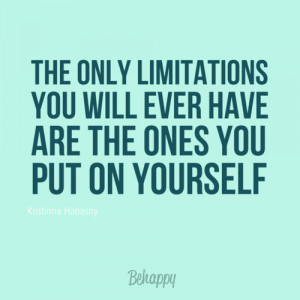 Limitation Quotes *weekend fresh*