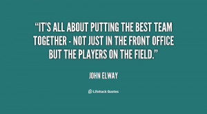 Best Team Player Quotes