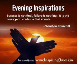 ... Evening Inspirational Wishes – Inspirational Thoughts and Quotes