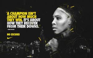 NoExcuses Nike Tennis