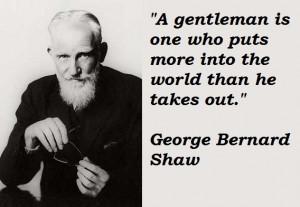 The reasonable man adapts himself tothe world; the unreasonable one ...