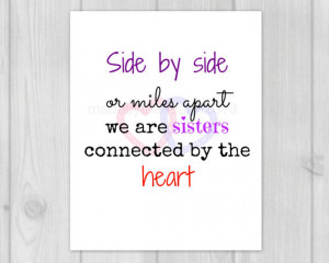 Sister Quotes - Sister Gifts - Sister in Law Gift - Gift for Sister ...