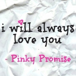 Pinky Promise :)
