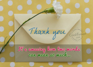 Thank You Quotes, Sayings about Gratitude