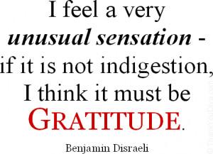 Funny Thank You Quotes Benjamin Disraeli