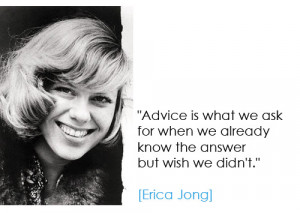 Quote For Thought: Erica Jong