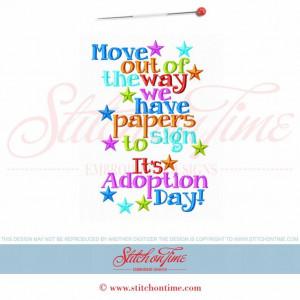 5969 Sayings : Adoption Day 5x7